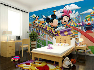 Wallpaper Dinding Cantik Dan Lucu Gambar Mickey Mouse