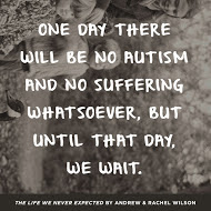 One day there will be no autism, book review, giveaway
