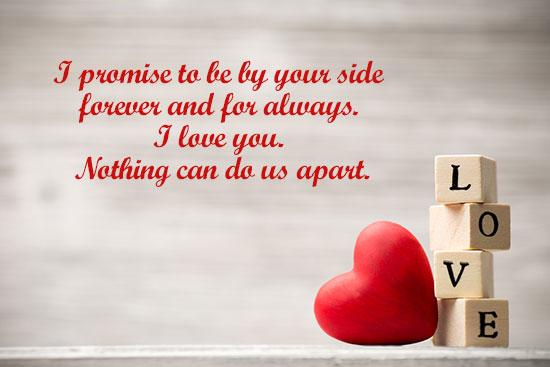 Valentine Day Love Whatsapp Image Quote
