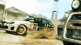 Colin McRae: DiRT 2 PS Vita Wallpaper