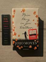 """""""Mein Herz in zwei Welten"""", czyli """"Moje serce w dwóch światach"""" Jojo Moyes, fot. by paratexterka ©"""