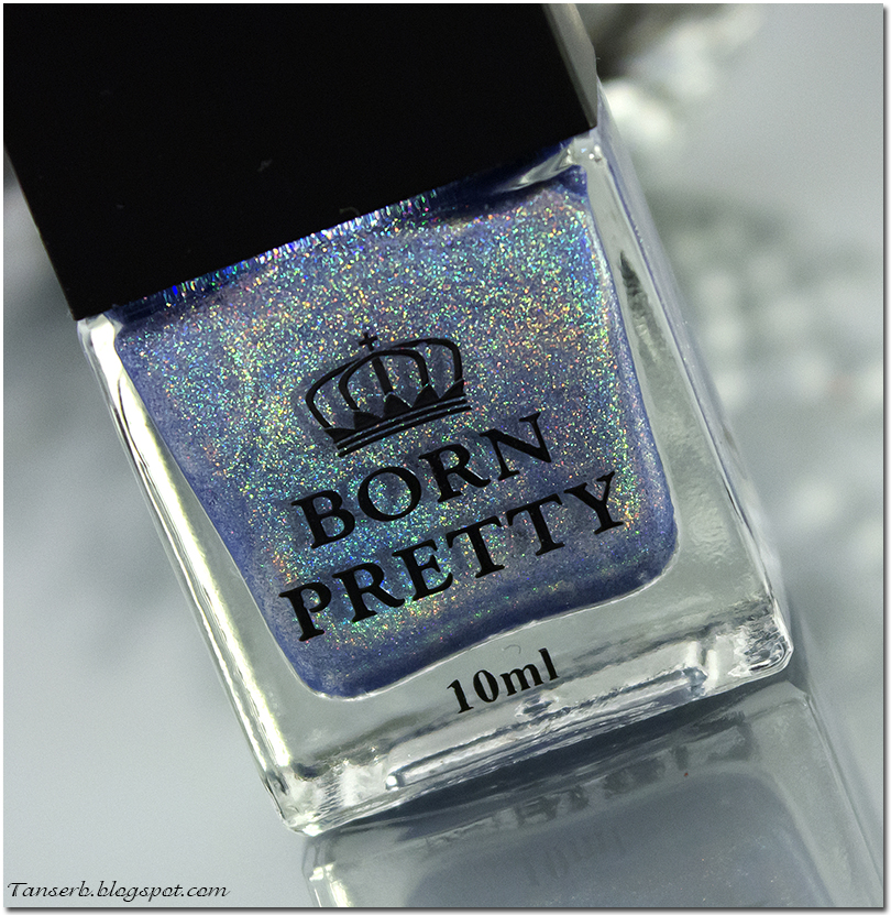 "Born Pretty Holo Glitter Polish H006 ""fly in the sky"""