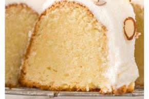 Almond Amaretto Pound Cake