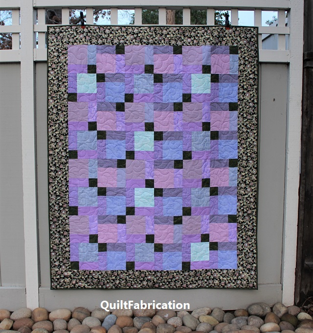 Paradise 3 quilt by QuiltFabrication