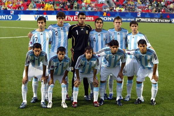Formación de Argentina ante Chile, Copa del Mundo Sub-20 Canadá 2007, 19 de julio