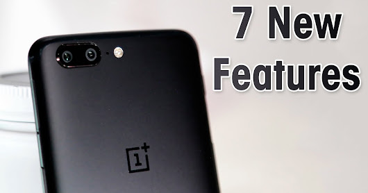 Top 7 New Unique Features in One Plus 5