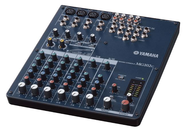 Harga Mixer Audio Yamaha MG102C