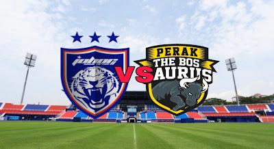 Live Streaming Keputusan JDT vs Perak Piala Sumbangsih 2.2.2019
