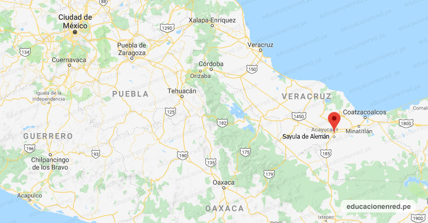Temblor en México de Magnitud 4.0 (Hoy Miércoles 20 Noviembre 2019) Sismo - Epicentro - Sayula de Alemán - Veracruz de Ignacio de la Llave - VER. - SSN - www.ssn.unam.mx
