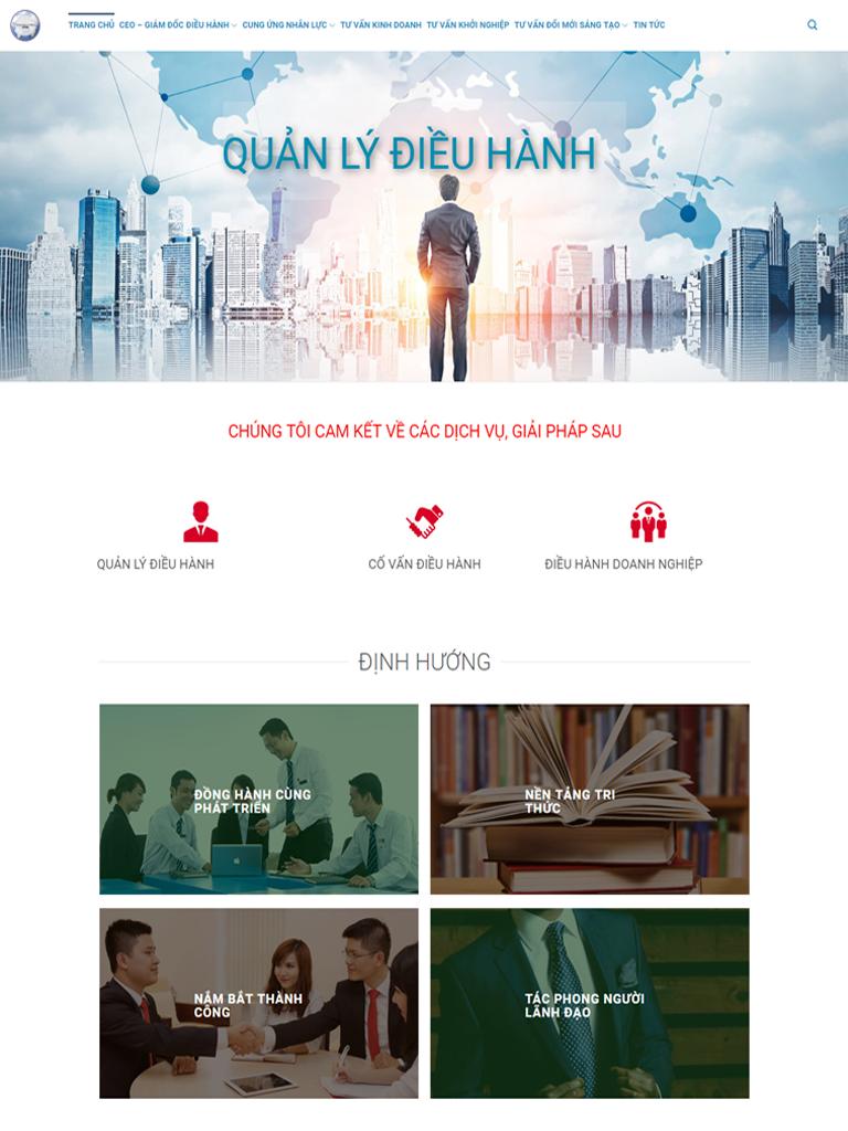 Dự án quản lý điều hành doanh nhân Nguyễn Huy Phương - Ảnh 2