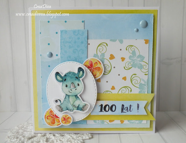 Urodzinowy nosorożec / Birthday Rhino