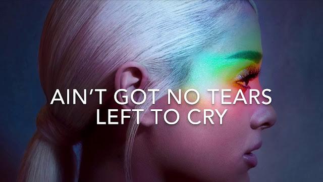 Chord Gitar/Kunci Gitar Ariana Grande - no tears left to cry