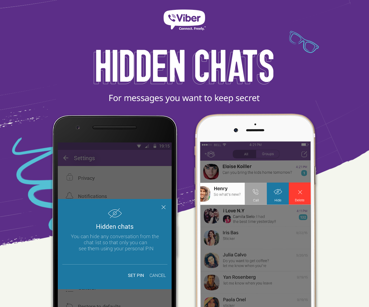 Viber Offers Users More Control Over Their Communications