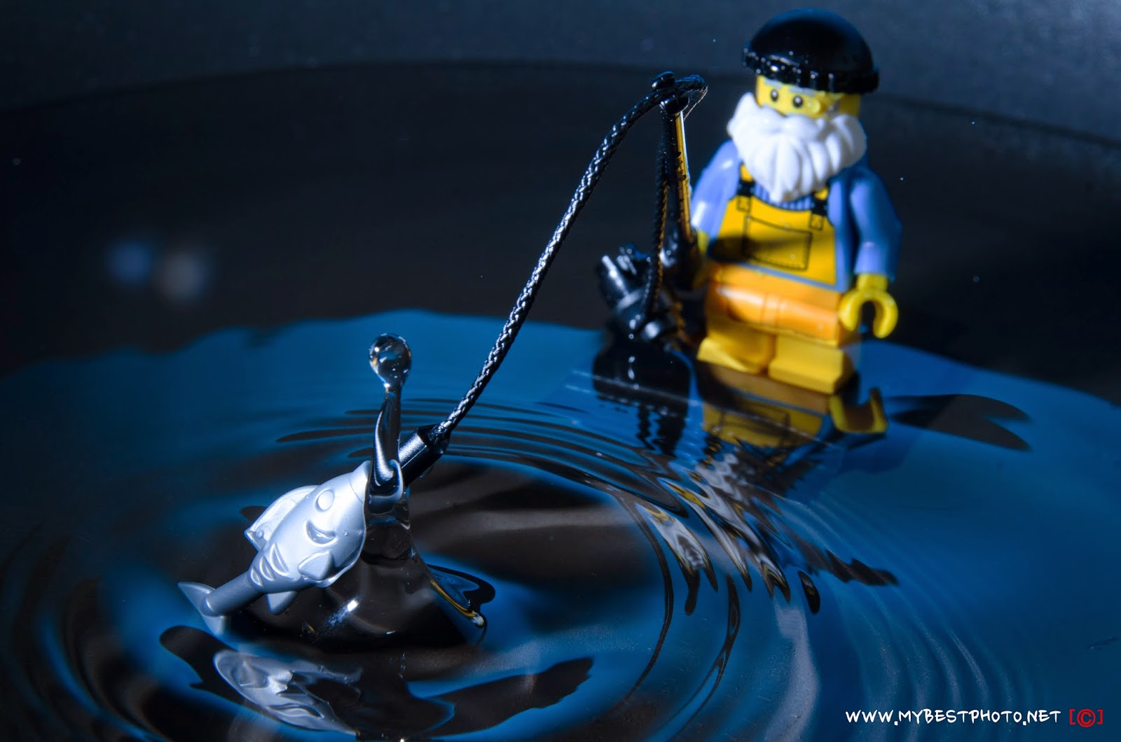 Lego Minifigure Series 3 Fisherman - Wallpapers