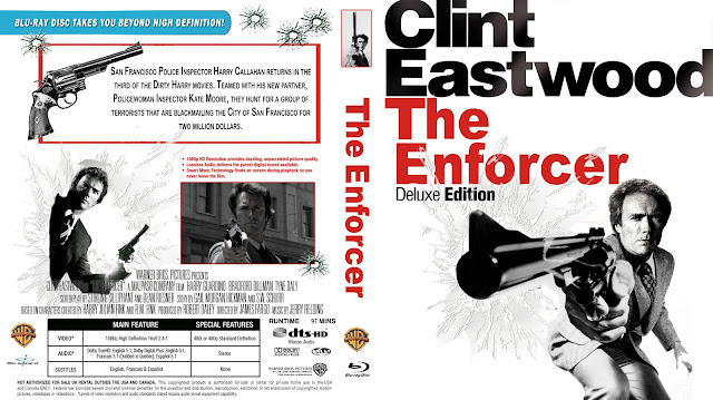 The Enforcer Bluray Cover
