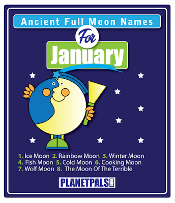 full moon names Jan 2017