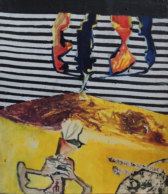 Elena Gastón pintura abstracta contemporánea