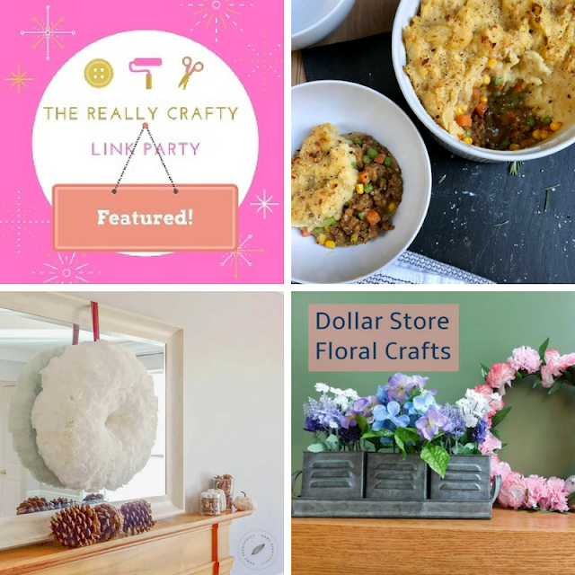 The Really Crafty Link Party 110# featured posts