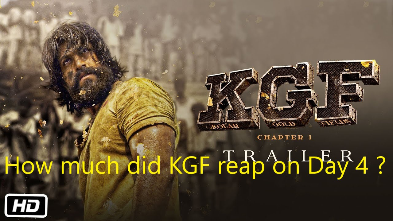 Information Era: KGF box office collection Day 4 -