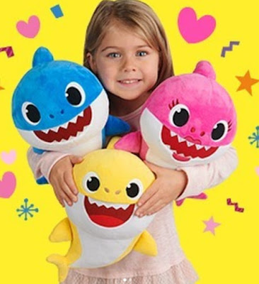 Акула игрушка