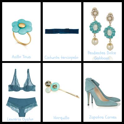 Algo azul complementos novias bodas