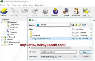Melanjutkan download file 3