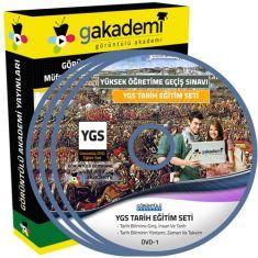 Görüntülü YGS Tarih Eğitim Seti 15 DVD