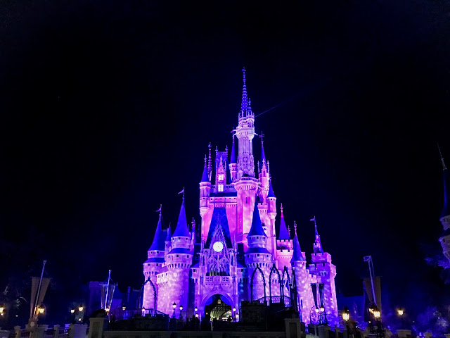 Cinderellas Castel at Night