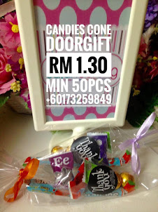 CANDIES CONE DOORGIFT