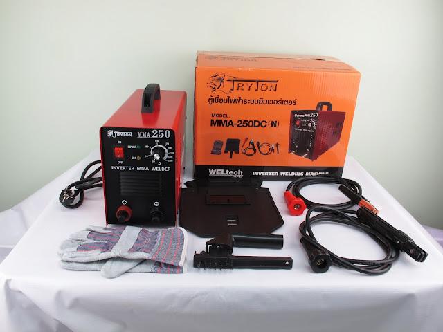 ขาย ตู้เชื่อมไฟฟ้า 250A อินเวอร์เตอร์