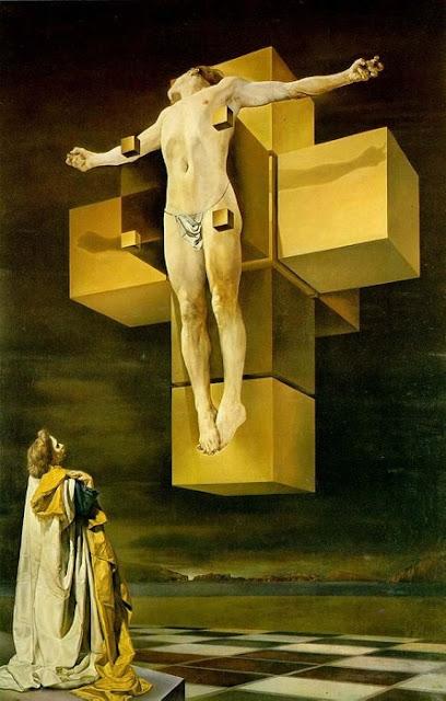 天才、ダリの奇行と不思議なインスピレーション 宇宙の真理?『磔刑』1954