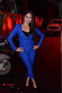 Actress Naina Ganguly Stills in Blue Dress at RGV Shiva to Vangaveeti Event  0066.JPG