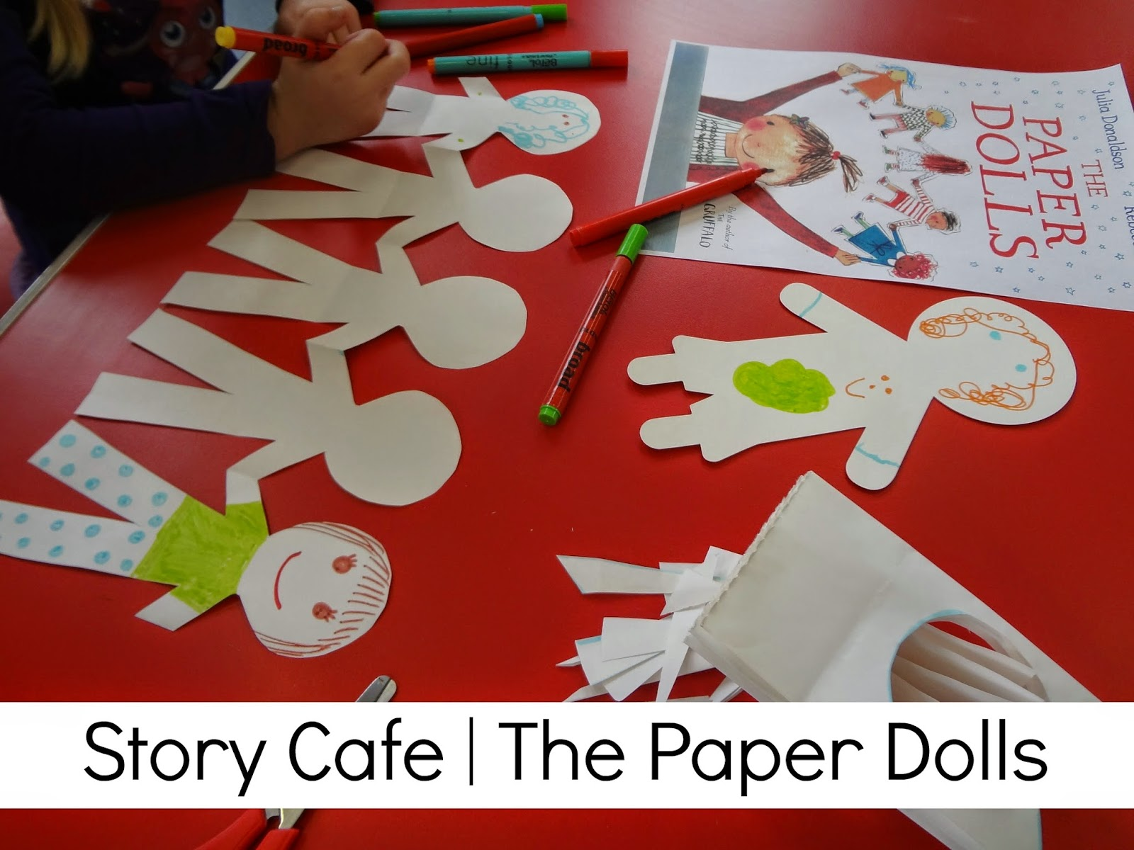 it 39 s all about stories a story cafe the paper dolls. Black Bedroom Furniture Sets. Home Design Ideas