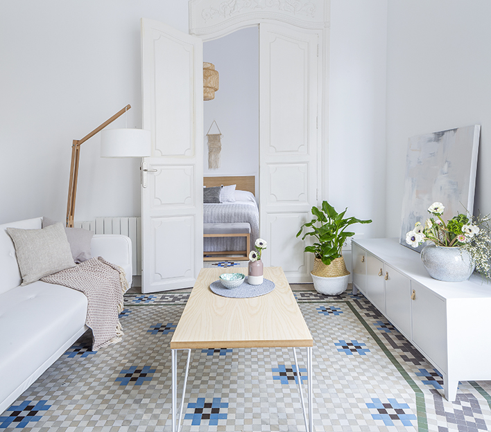 apartamento kenay by kenay home revista dolcevita. Black Bedroom Furniture Sets. Home Design Ideas