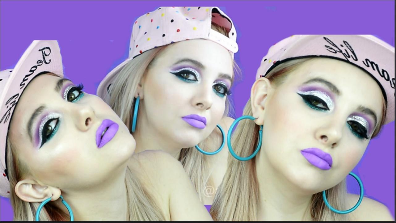 Tutorial Machiaj Cut Crease Cu Glitter Swag Girl Alina Barbu