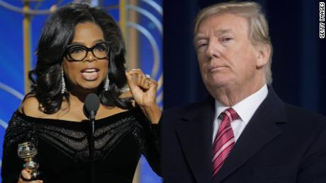 """Yeah, I'll beat Oprah"" if she runs for President – Donald Trump"