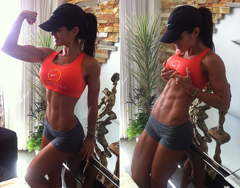 Michelle Lewin Fitness Inspo Women Who Lift Strong Lean Toned Abs