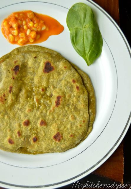 palak paratha recipe2