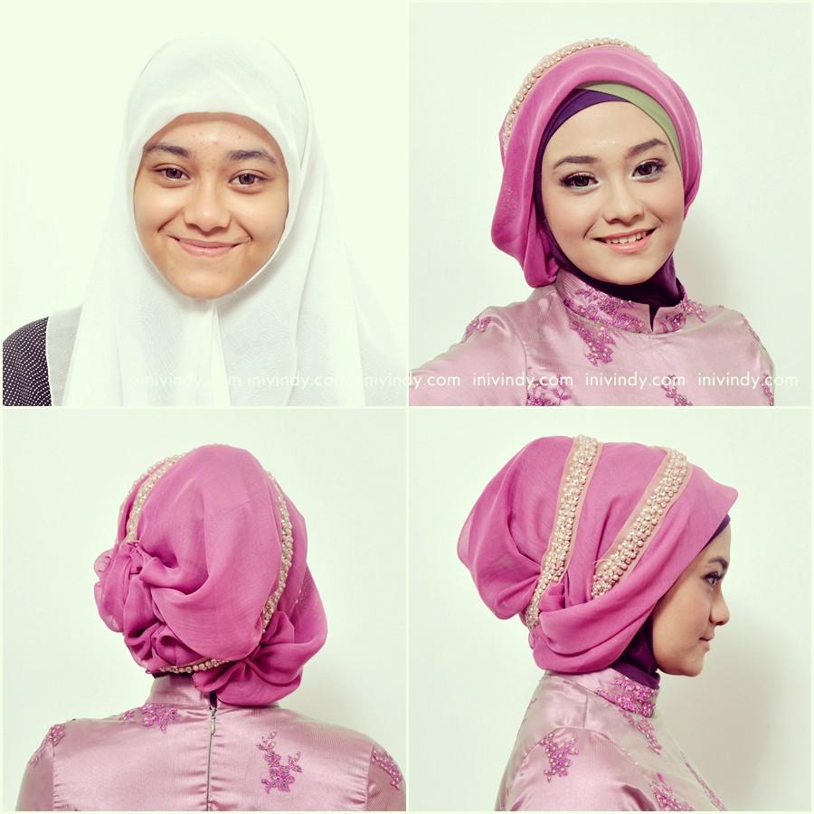30 Gambarnya Tutorial Jilbab Wisuda Cantik Paling Lengkap