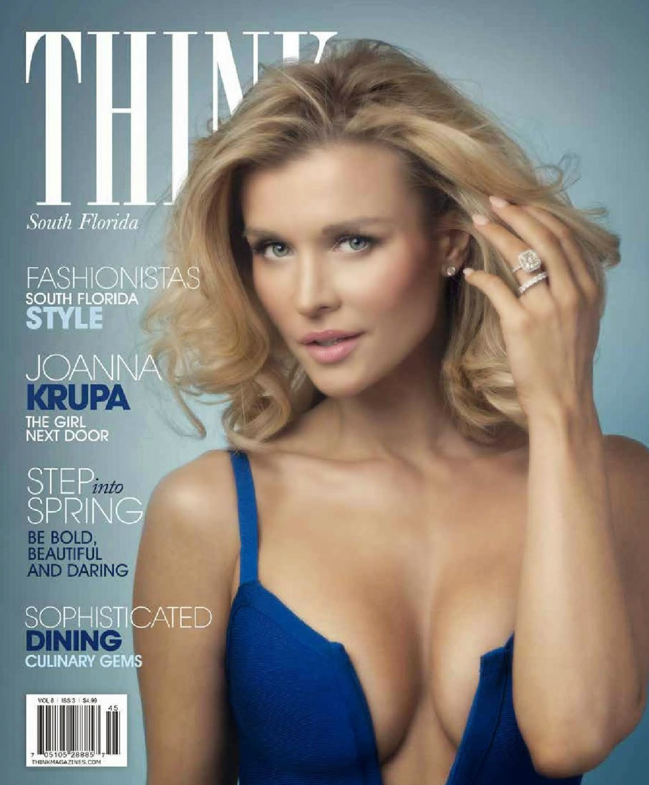Joanna Krupa shows off curves for Think Magazine March 2015