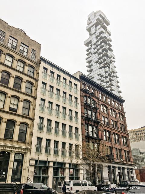 contraste en tribeca nueva york