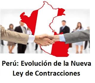 Perú: Evolución de la Nueva Ley de Contrataciones con el Estado
