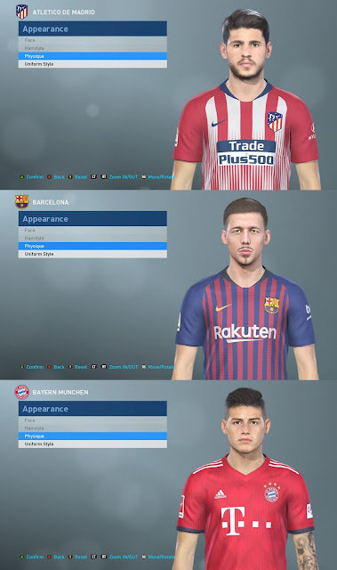 PES 2019 Facepack by Makidan14