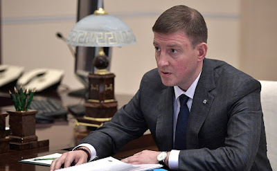 Governor of Pskov Region Andrei Turchak
