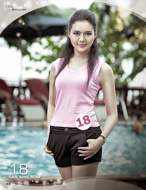 Miss Universe Myanmar - Myanmar Model Girls