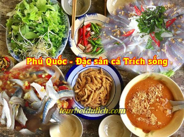món đặc sản Phú Quốc Gỏi cá Trích