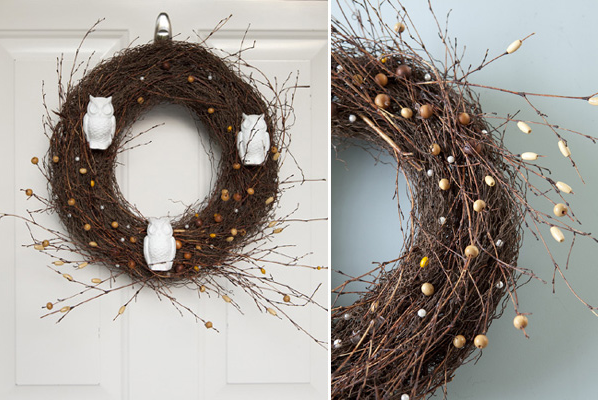Owl Wreath Tutorial