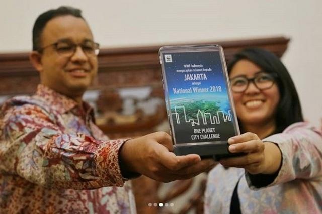 Goodbener! Kalahkan 50 Kota Dunia, Pemprov DKI Terima Penghargaan Kota Paling Dicintai Tahun 2018