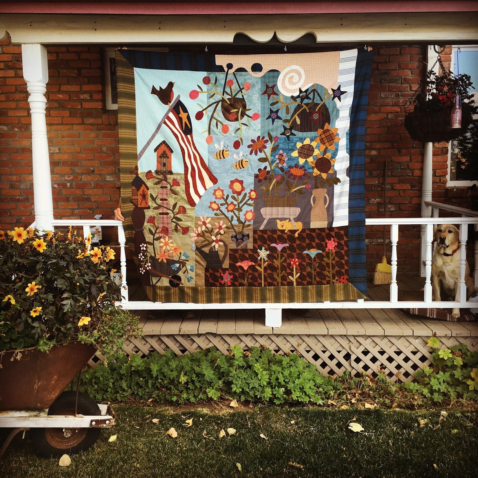 Back Porch Quilting Templates : Henry Glass Fabrics: Designer Spotlight - Janet Nesbitt and One Sister Designs