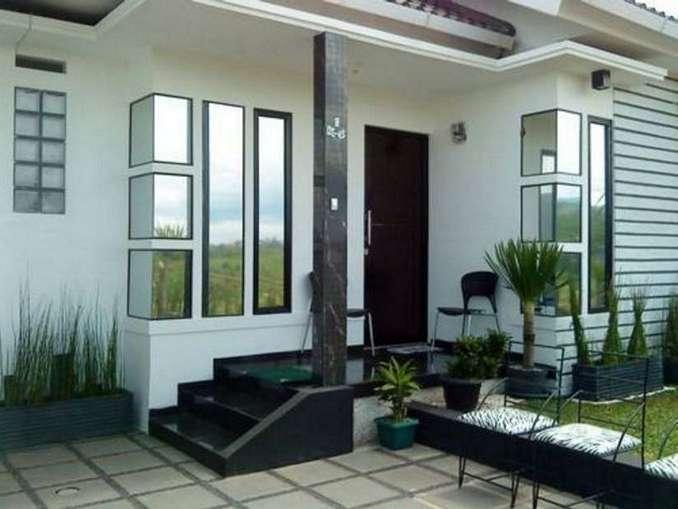 Desain Teras Rumah Kecil Minimalis Ukuran Mungil Dan